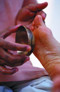 Kansu, le massage du pied au bol Kansu