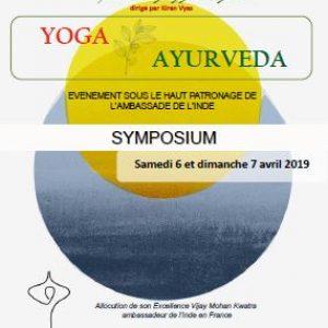 Symposium Yoga et Ayurveda 2019
