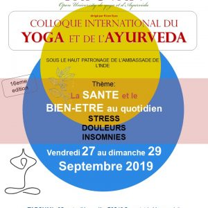 16ème Colloque international Yoga et Ayurveda