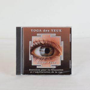 CD YOGA DES YEUX de Kiran Vyas