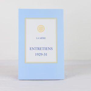 Entretiens 1929-31